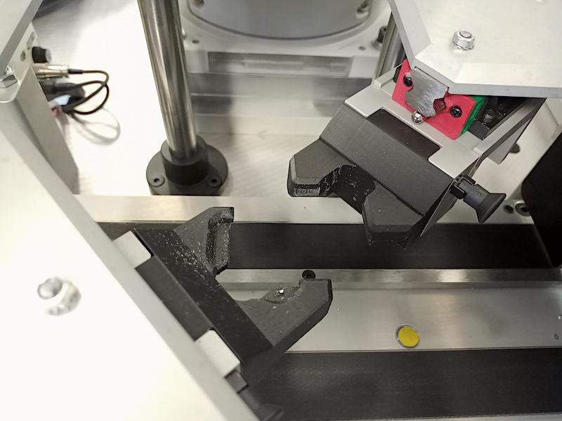 Prototyp szczęki zaciskowe wydrukowany w 3D