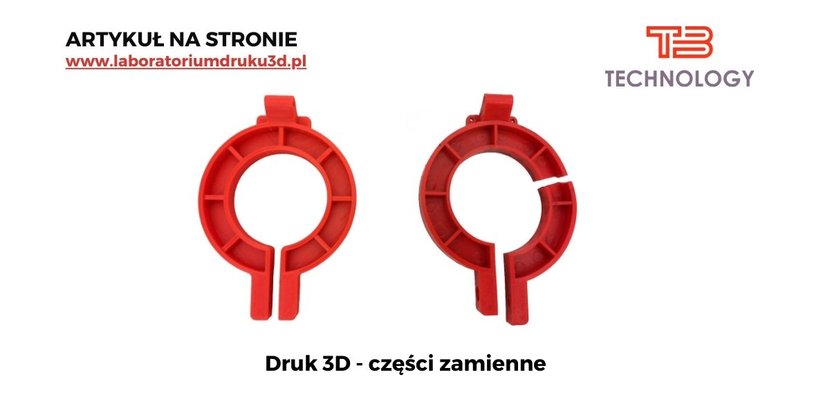 Części zamienne, czyli druk 3D zamienników uszkodzonych elementów