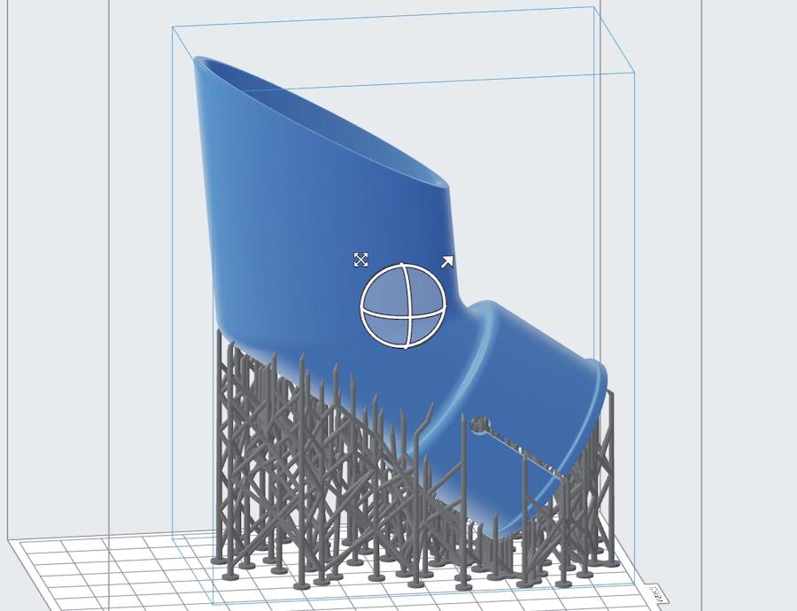 druk 3D w technologii SLA