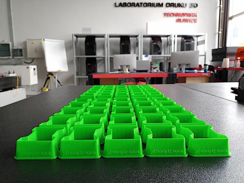 Gadżety wydruk 3D forma kostki brukowej