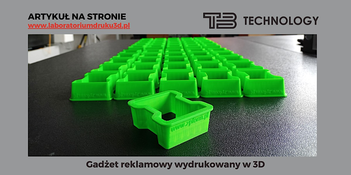 Read more about the article Gadżety reklamowe wydrukowane w 3D